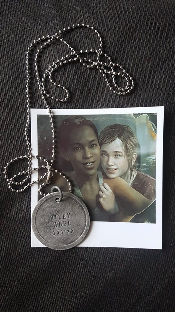 The last of us left behind abel rileys firefly dogtag description the last of us mozeypictures Gallery