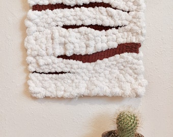 Cream and Rust Wall Hanging