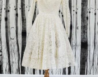 SOPHIA- Genuine Vintage 1950s Wedding Dress