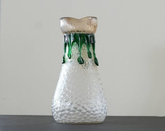 Kralik Bohemia Art Nouveau Glass Vase