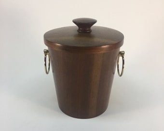 Symco Japan walnut ice bucket