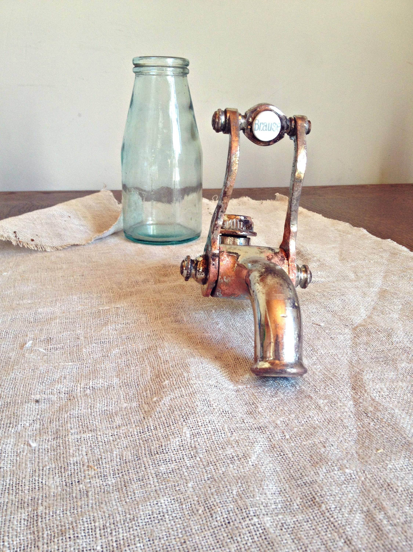 Antique bath tap french faucet vintage shower tap water - Decoracion industrial vintage ...