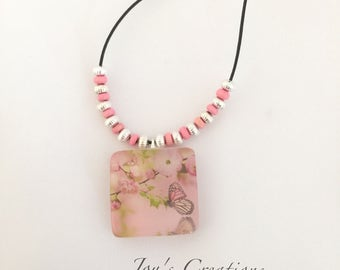 Resin Jewelry, Butterfly Series