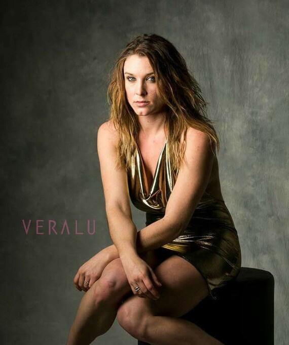 VERALU Liquid Gold dress