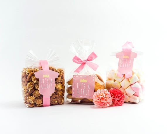 10 Sets Of Baby Shower Favor Kit,girl Baby Shower Favor,itu0027s A Girl,baby  Shower Goodie Bag,baby Shower,baby Girl,baby Favor Set,favor Bags From ...