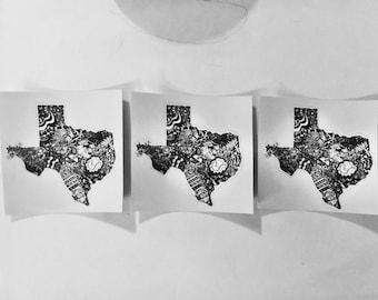Bigger In Texas Sticker