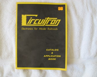 Vintage Circuitron 1970's Catalog & Application Book / Electronics for Model Railroads