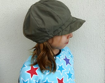 Womens hipster hat summer slouchy cap the Poor Boy hat newsboy hat army green poor boy cap newsboy cap mens womens slouchy hat vintage