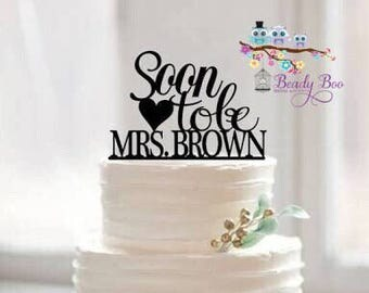 Bridal Shower Toppers