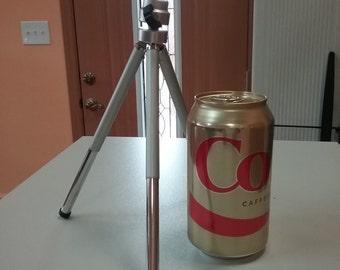 Mini telescoping tripod for camera