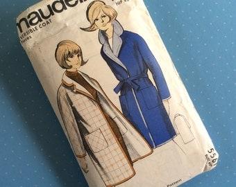 "Vintage Sewing Pattern - Maudella 5561 - Retro 1960's Dressmaking Pattern - Coat Sewing Pattern - Size 18 Bust 40"" Hip 43"" Sewing"
