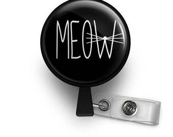 MEOW ID Badge Reel
