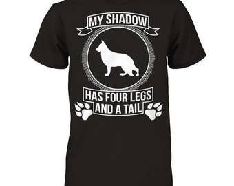 GSD Shirt | German Shepherd - My Shadow | A fantastic gift for all GSD owners
