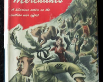 Vintage Book - Feather Merchants by Max Shulman