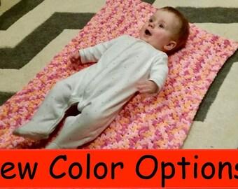 Plush Woven Baby Blanket