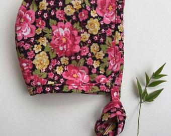 Mellow Floral Bonnet