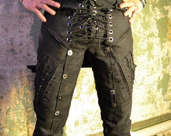 Thrall SceneSick Post Apocalyptic Horror Stage Costume Pants