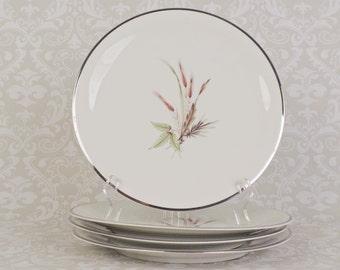 4 Grace China Lady Diana Bavaria Dinner Plates