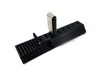USB Flash Drive Organizer - SD Card Organizer - Micro SD Card Organizer - Desk Organizer