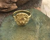 Green Girl Studios Lion Ring