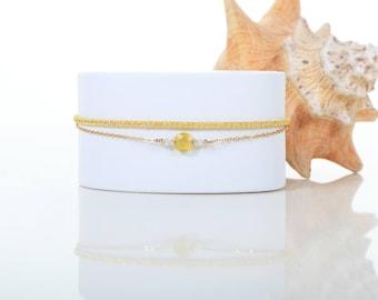 Gienah Chin - Yellow Chalcedony