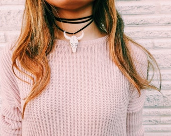 Makenna-- Multi-Wear Wrap Necklace
