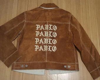Suede Distressed Pablo Jacket