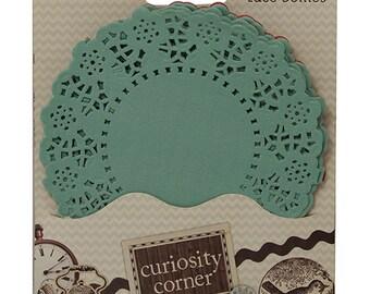 Curiosity Corner Coloured Paper Lace Doilies - Dovecraft - DCDO005