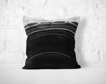 Marbled Throw Pillow, Black and White Pillow, Marble Pillow, Black Throw Pillow, Abstract Pillow, Marble Toss Pillow, Marble Cushion, Marble