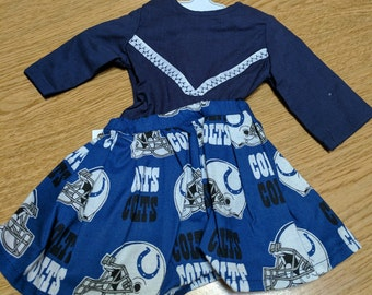 "Indianapolis Colts Cheerleading 18"" Doll Clothes"