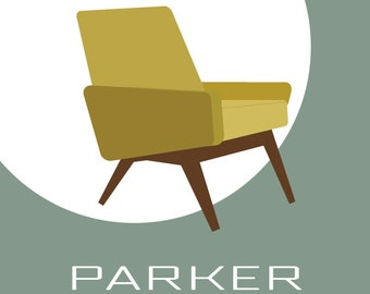 Parker Knoll Chair - Art Print