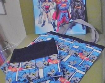 Batman Tote Bag & Pillowcase Set