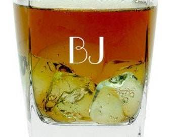 Personalized Rocks Glasses - Set of 4 - 3204DYO