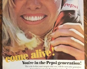 1964 Pepsi Ad from LIFE magazine