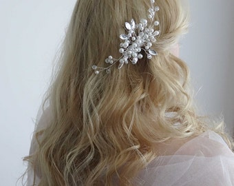 Bridal Headpiece, Wedding Headpiece, Bridal Hair Piece, Bridal Head Piece, Bridal hair comb