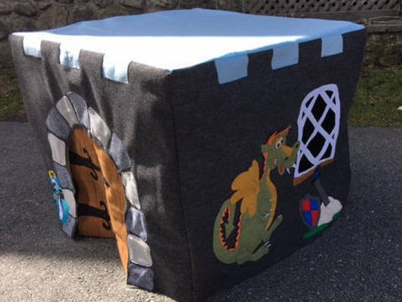 Castle with Dragon Playhouse Pattern