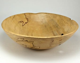 Spalted Beech Wood Bowl
