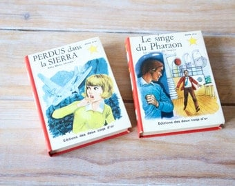 Children book - Small french children book - Small reading kids book - Children stories in french - Illustrated children book vintage