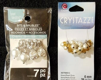 Bits & Baubles , Crystazzi , FREE SHIPPING , Beads , Rondelle Beads , Jewelry Making Beads , Craft Beads , 6mm