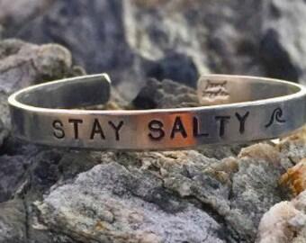 Stay Salty Cuff