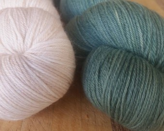 Fernshaw Brioche Shawl Kit Lil'Outback 'Forest and Bambi'