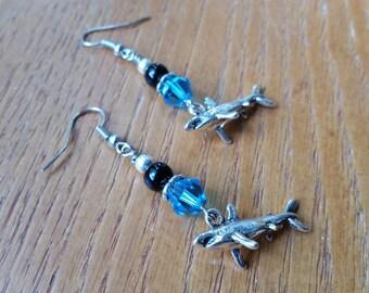 SHARK! Earrings.