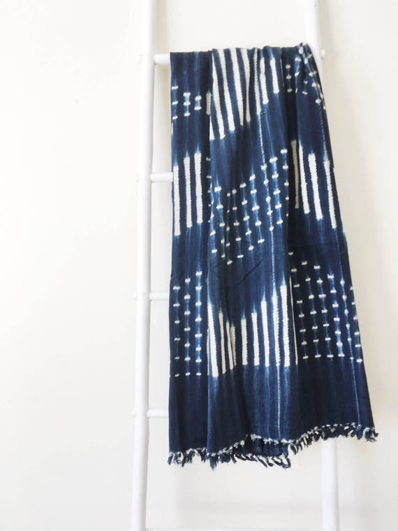 Dot & Stripe Diamond Pattern Throw