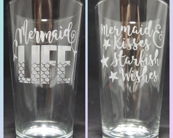 Mermaid Glass Set