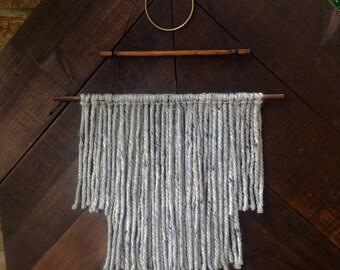 Tiered Yarn wall hanging