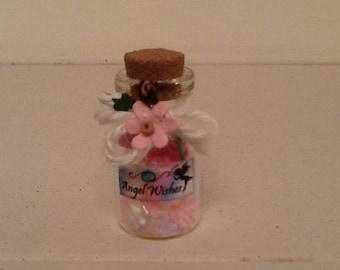 Miniature Angel Wish Jars
