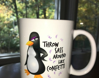 Sassy Coffee Mug For Women and Teen Girls - Best Birthday Gift for Coffee, Tea and Hot Cocoa Lovers With a Little Sass!