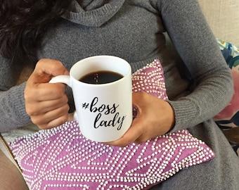 Boss Lady Mug | Graduation Mug | Funny Boss Lady Mug | Boss Gift | Boss Mug | Lady Boss Mug | Girl Boss Mug | Motivational Mug | #bosslady