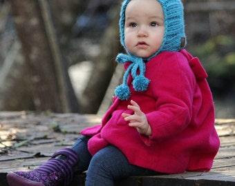 Plain Pixie Bonnet [] Knit Pixie Bonnet [] Pixie Hat [] Knit Bonnet []  Gnome Hat []