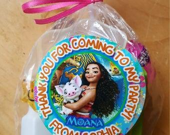 Moana Favor Bag - Personalized